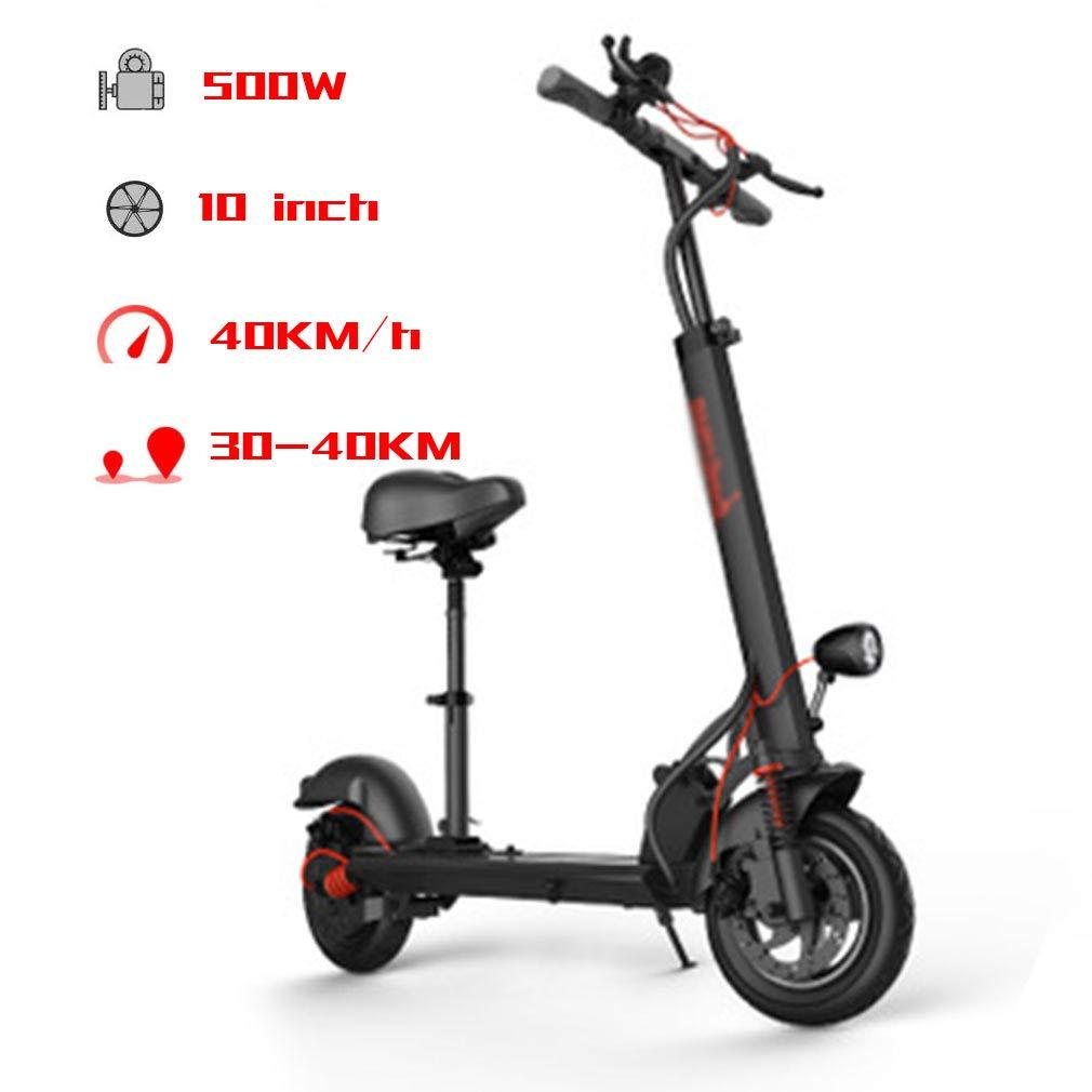 Scooter Eléctrico, Patinete Electrico Aleación De Aluminio ...