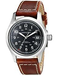 Hamilton Mens HML-H70455533 Khaki Field Black Dial Watch