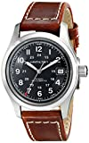 Hamilton Men's HML-H70455533 Khaki Field Black Dial Watch