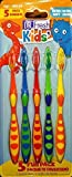 5 Pack Dr. Fresh Kids' Extra Soft Toothbrushes