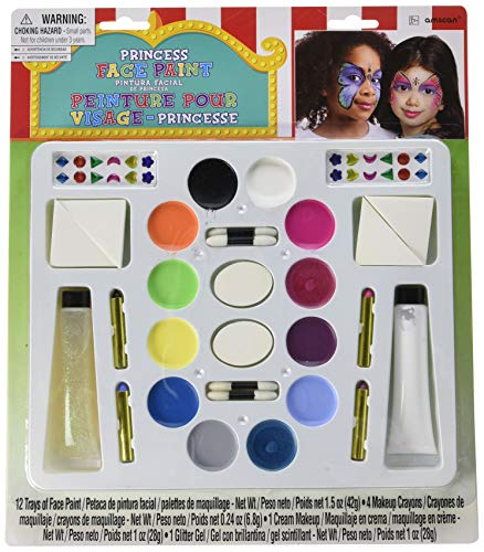 Princess Face and Body Paint Kit Deluxe | Game Collection | Party Accessory]()
