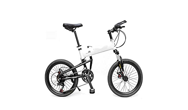 WEYQ Bicicleta Plegable BMX Aviación Marco de aleación de Aluminio Bicicleta de montaña 14 Transmisión de Velocidad Paquete de Freno de Disco mecánico Rueda de 20 Pulgadas Se,B: Amazon.es: Deportes y aire