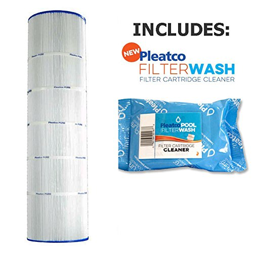 Pleatco Cartridge Filter PJANCS200 Jandy Industries CS200 R0462400 w/ 1x Filter Wash by Pleatco