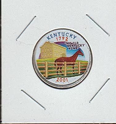 2001 D Washington State Quarter Kentucky Quarter Choice Extremely Fine