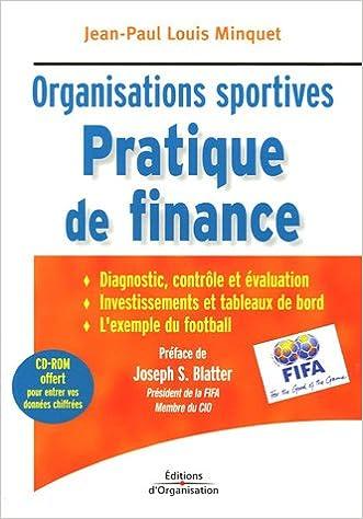 Livres gratuits en ligne Pratique de finance : Organisations sportives (1Cédérom) epub, pdf