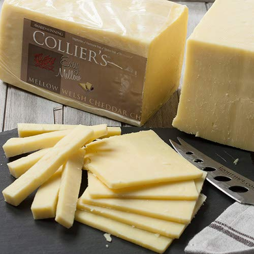 igourmet Colliers Easy Mellow Welsh Cheddar (7.5 ounce)