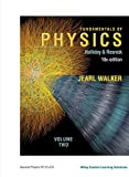Fundamentals of Physics Volume 2 Custom 10th Edition for General Physics SP 211-212