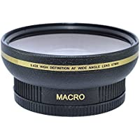 HDStars 67MM 0.43x Wide Angle Conversion Lens with Macro Close-Up Attachment for Canon, Carl Zeiss, Fujifilm, Nikon, Panasonic, Pentax, Olympus, Samsung, Sigma, Sony, Tamron, Tokina Lens Benefits Review Image