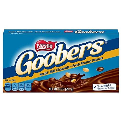 - Nestle Goobers Theater Box 3.5 oz.: 18 Count