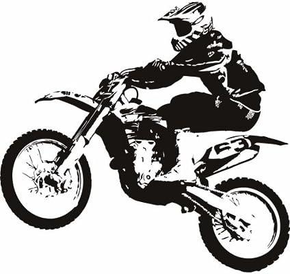 cakeusa silueta para bicicleta de motocross racing bikebirthday ...