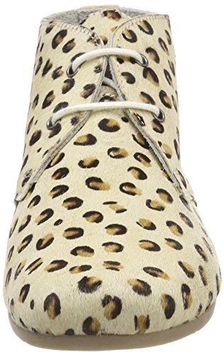 Maruti Gimlet Hairon Leather, Bottines Femme, Noir Beige (Leopard Bege Brown Black)