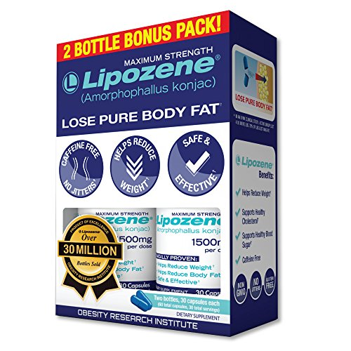 Lipozene Diet Pills - Maximum Strength Fat Loss Formula - 15