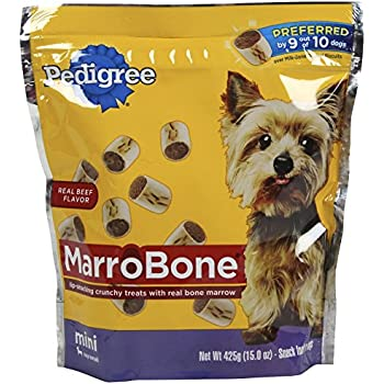 Amazon.com : Pedigree Marrobone Real Beef Flavor Mini