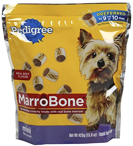 PEDIGREE MARROBONE Real Beef Flavor Mini Snacks for Dogs 15 oz.