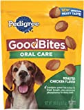 Pedigree Good Bites Oral Care Snack Food for Dogs, Roasted Chicken, 6.7 Ounce (Pack of 10), My Pet Supplies