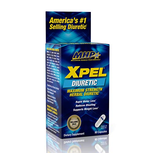 MHP Xpel Maximum Strength Diuretic Capsules, 80 ()