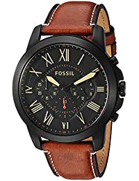 Mens FS5241 Grant Chronograph Luggage Leather Watch