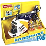 Fisher Price N1396 - Imaginext Elicottero del soccorso in mare