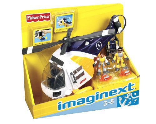 Fisher Price Imaginext Helicopter