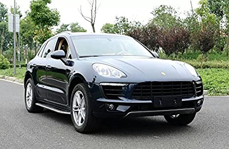 Amazon.com: Side Step fit for Porsche Macan S Turbo 2014-2016 Running Board Nerf Bar Shine: Automotive