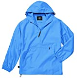 Women's Ultra Light Pack-N-Go Pullover - Columbia Blue, Large