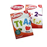 PLAYSKOOL Alphabet and Numbers Flash Cards (2 sets), Baby & Kids Zone
