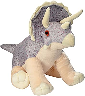 Plush Toy Little biggies 30 Inches Gifts for Kids Wild Republic Triceratops Plush Stuffed Animal