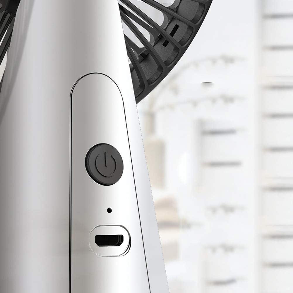 Portable Super Quiet Table Fan Electric Air Cooler for Home Office Desk Decor White FAgdsyigao 5V Mini USB Fans