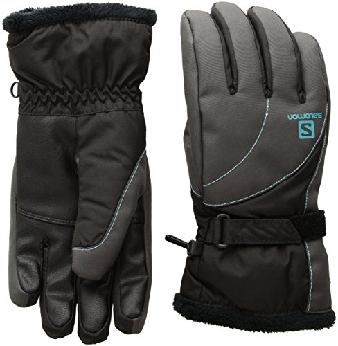 Salomon Women's Force GTX Gloves, Forged Iron, Medium