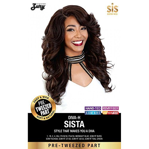 [SISTER WIG Diva Pre Tweezed Part // Diva-H Sista (2)] (Divas Wigs)