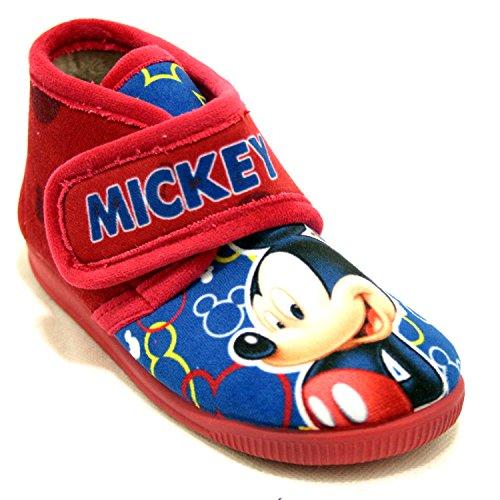Zapatillas Vulca Bicha de Mickey Rojo