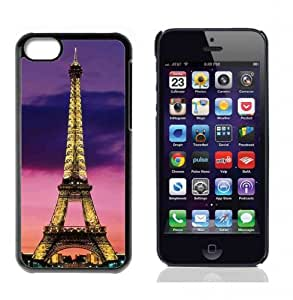 Paris Eiffel Tower Hard Plastic and Aluminum Back Case For Apple iphone 4s With 3 Pieces Screen Protectors