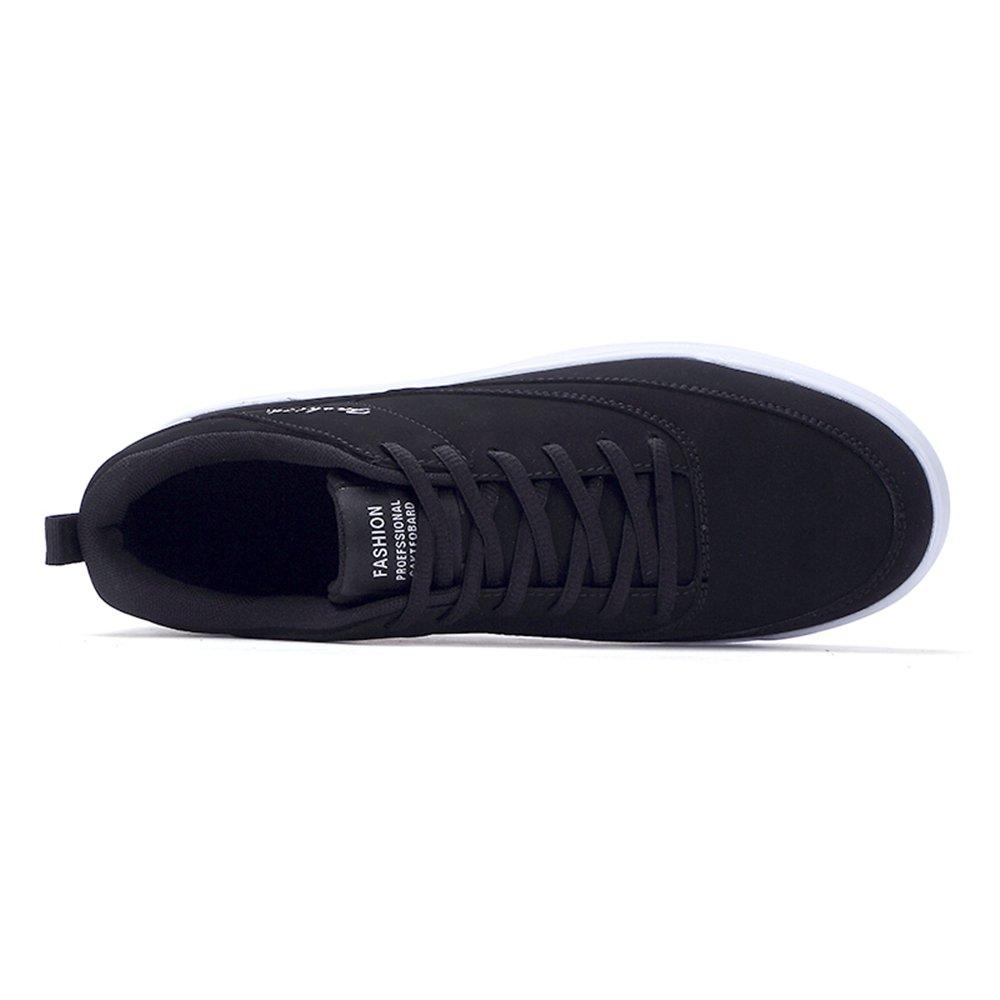 MUMUWU Mens Casual Fashion Sneaker Flat Heel Lace Up Sport Shoes Carrier