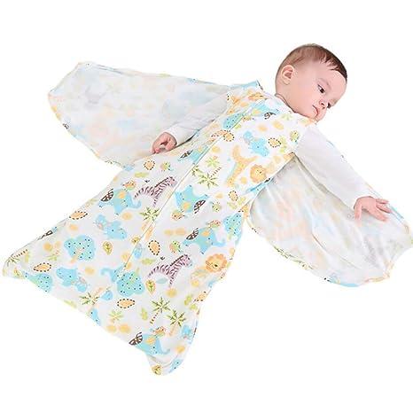 ZLMI Bolsa De Dormir Bebé Algodón Recién Nacido Envuelto Bolsa De Dormir M/L (