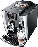 Jura 15097 E8 Espresso Coffee Machine, 28 cm x 35 cm x 35.1 cm, Chrome