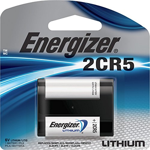 Energizer EL2CR5BP Advanced Photo Lithium Battery - Retail Packaging (Equivalent Digital Camera Battery)