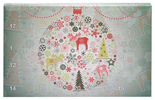 BriConti Beauty Adventskalender Adventskalender 2016, 1er Pack (1 x 24 Stück)