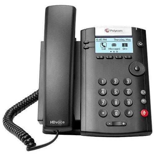 Polycom 201 IP Phone - Cable - Desktop, Wall Mountable