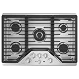ge 30 gas 5 burner cooktop - GE Profile PGP9030SLSS 30 Inch Natural Gas Sealed Burner Style Cooktop with 5 Burners in Stainless Steel