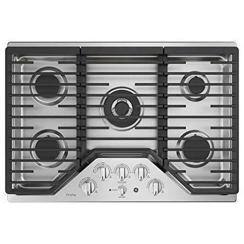 GE PGP9030SLSS 30 Inch Gas Cooktop (30 Inches Gas Cooktop)