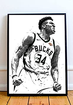 Giannis Antetokounmpo Limited Poster Artwork – Professional Wall Art Merchandise More Sizes Available 11×14