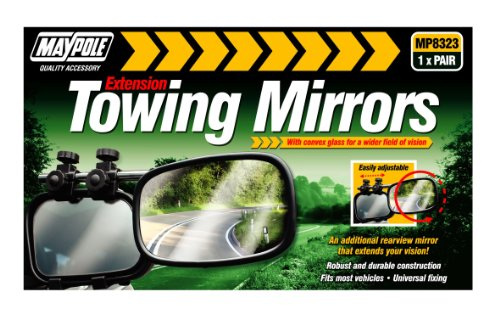 Maypole Mp8323 Convex Caravan Mirrors