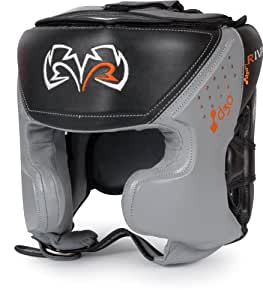 Rival d3o Intelli-Shock Pro Training Headgear, BK/GR, L