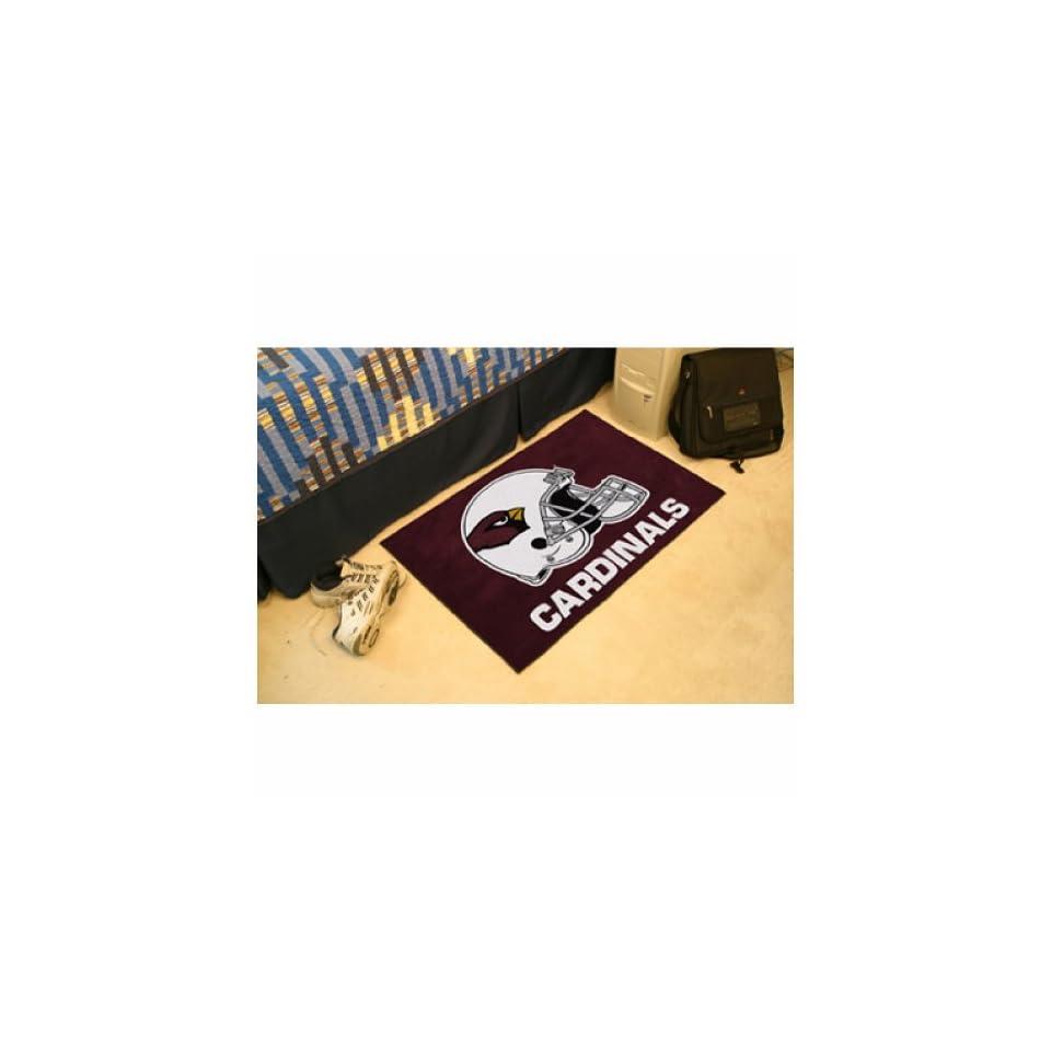 "Fan Mats 5661 NFL   Arizona Cardinals 20"" x 30"" Starter Series Area Rug / Mat  Sports Fan Area Rugs  Sports & Outdoors"