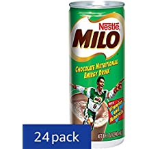 Milo Nutritional Energy Drink, Chocolate, 8 Fluid Ounce (Pack of 24)