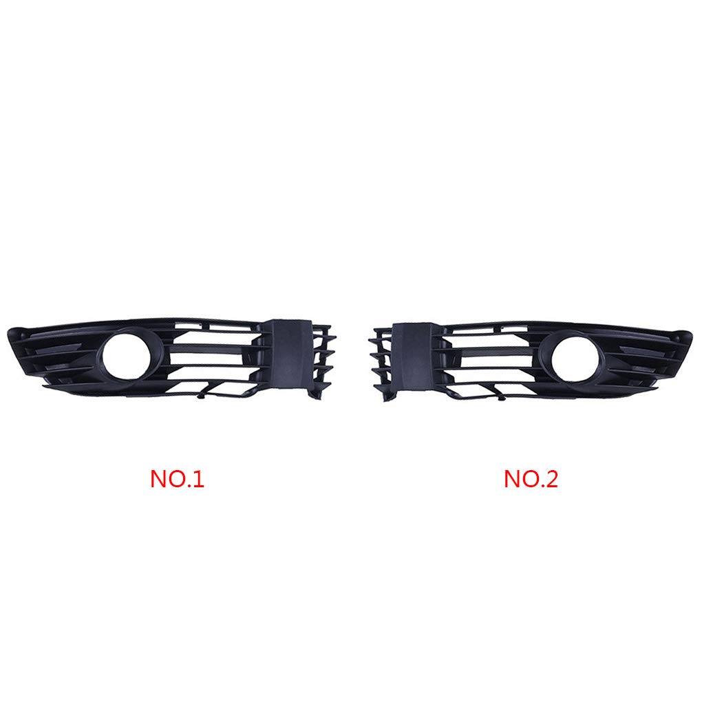 3B0853665L Coche pl/ástico foglight Rejilla de luz de Niebla de la Parrilla del reemplazo para 01-05 B5.5 Passat Fgyhty Derecha//Izquierda Lateral 3B0853666L