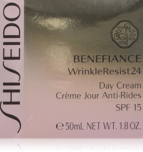 Shiseido Benefiance Wrinkleresist24 Day Cream SPF 15 for Unisex, 1.8 Ounce ()