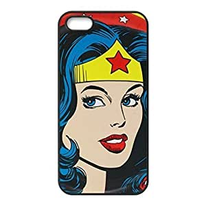 New Arrival Custom Wonder Woman Custom Case Cover Custom iPhone for iPhone 5 5s protective Durable case
