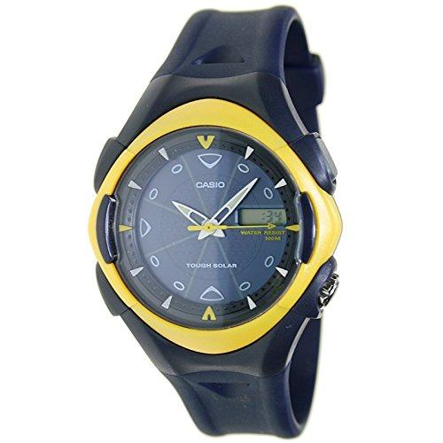 CASIO MDAS-11HC-9A - Reloj Analógido - Digital para hombre Solar Sumergible: Amazon.es: Relojes