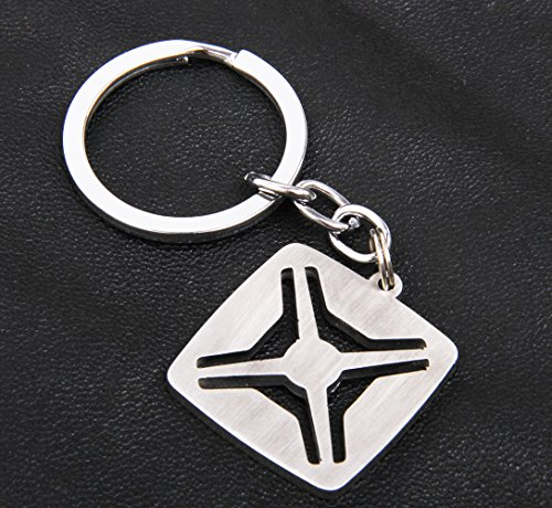 Jeep Renegade Keychain With A Strape Key Chain Stainless Steel Holder Automobile Hanger Home ()